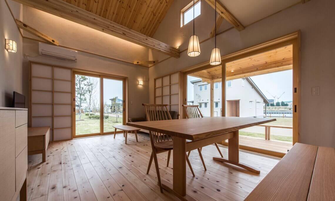 愛知県豊橋市の自然素材の注文住宅