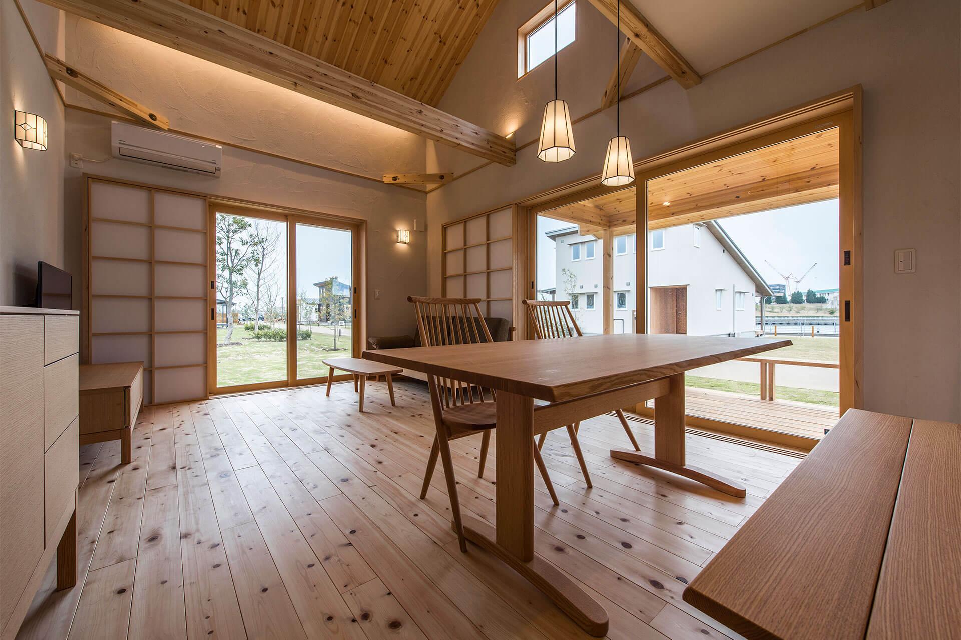 豊橋市で注文住宅・新築一戸建てを建てるなら自然素材・木の家の「伴工務店」
